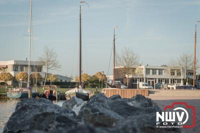 Haven gebied Elburg uitgebreid met 3000 m2 water en een verblijfsgebied zowat klaar voor oplevering. - ©NWVFoto.nl