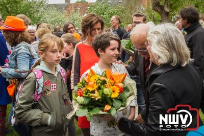 Jeugdlintjes en benoeming van eerste jeugdburgemeester in de gemeente Elburg. - ©NWVFoto.nl