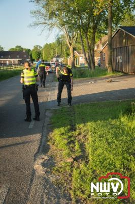 Aanhouding na ongeval Mezenbergerweg Doornspijk - ©NWVFoto.nl