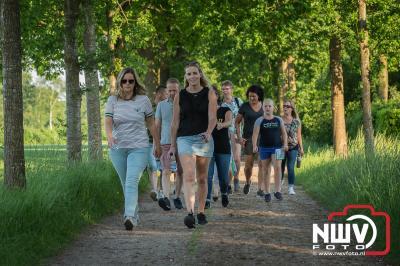 Avondwandel vierdaagse Doornspijk maandagavond 2018. - ©NWVFoto.nl