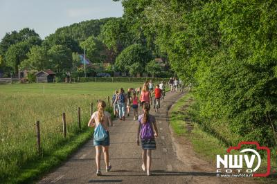 Avondwandel vierdaagse Doornspijk dinsdagavond 2018. - ©NWVFoto.nl