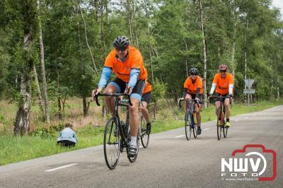 Deelnemers brengen ruim € 63000,- op met  Toer de Dellen 2018 voor Kika. - ©NWVFoto.nl