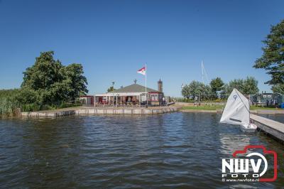 Receptie 60 jarig jubileum watersport verenigen Admiraal van Kinsbergen op de strekdam Elburg. - ©NWVFoto.nl