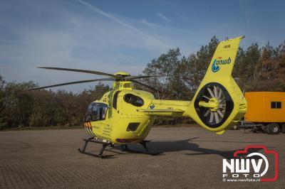 Bij een ongeval op de Zuidweg Epe is zaterdag de traumaheli ingezet. - ©NWVFoto.nl