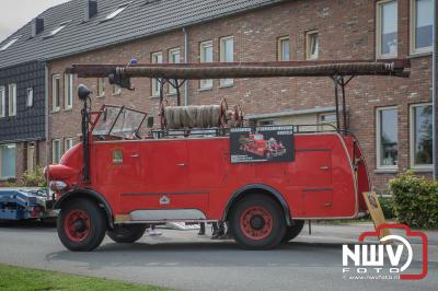 Brandweer oldtimershow ter ere van het 150 jarig bestaan brandweer Oldebroek. - ©NWVFoto.nl