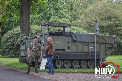 Tijdens monumentendag konden geïnteresseerden ook een bezoek brengen aan het museum op het ASK 't Harde. - ©NWVFoto.nl