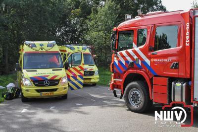 Traumaheli ingezet bij eenzijdig ongeval Schietweg 't Harde - ©NWVFoto.nl