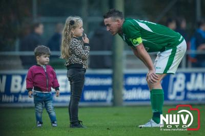 Aantrekkelijke derby eindigt in 2-2 remise. - ©NWVFoto.nl