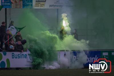 't Harde speelt puike partij tegen Zeewolde. - ©NWVFoto.nl