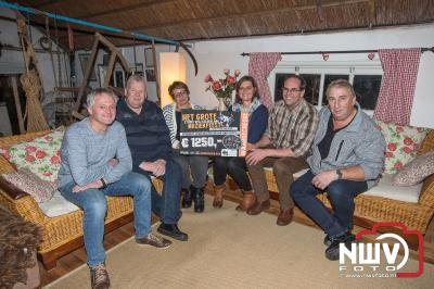 Opbrengst Stichting Muziekfeest Studio Vrij Gelderland 2018. - ©NWVFoto.nl