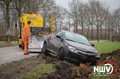 Eenzijdig ongeval Bovenweg t.h.v. Rode Landsweg Doornspijk. - ©NWVFoto.nl