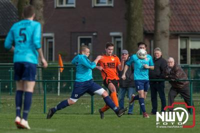 DSV'61 wint streekderby in slotminuut - ©NWVFoto.nl