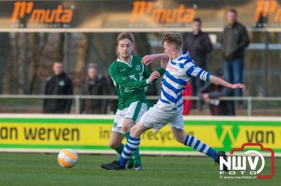 ESC gaat strijdend ten onder in Oldebroek - ©NWVFoto.nl