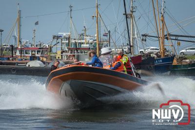 Tijdens reddingbootdag bij station Elburg waren er diverse demonstraties te zien. - ©NWVFoto.nl