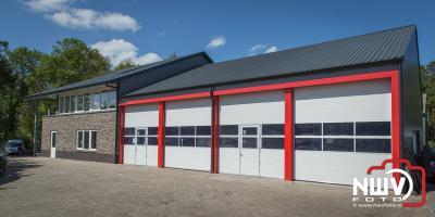 Opening nieuwe pand Garage Kielman op 'tHarde, nadat het op 11 maart 2017 door brand werd verwoest. - ©NWVFoto.nl