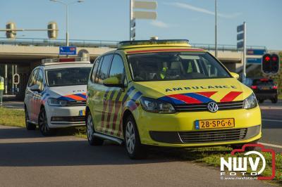 Traumaheli inzet bij ongeval met twee scooters op de Hoge Enk. - ©NWVFoto.nl