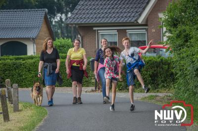 De kans op regen en onweer was de voorspelling, maar gelukkig bleef het uit en was het weer prachtig wandelweer. - ©NWVFoto.nl