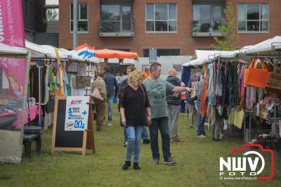 Langstedag markt in het winkelcentrum op 't Harde. - ©NWVFoto.nl