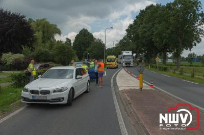 Kop-staartbotsing Zuiderzeestraatweg Oost Elburg- - © NWVFoto.nl
