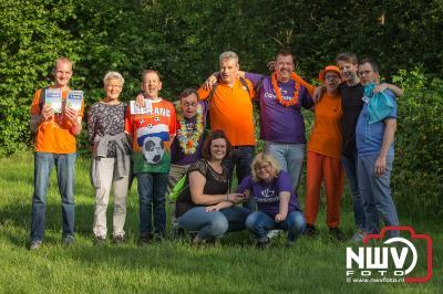 Wat een sfeer tijdens de derde avond nadat woensdag het weer er voor zorgde dat er niet werd gelopen. - ©NWVFoto.nl