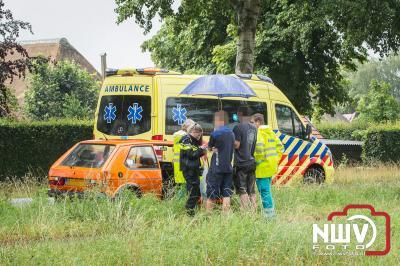 Weer kopstaart botsing op N309 t.h.v. Nieuwstadsweg in Elburg.  - ©NWVFoto.nl