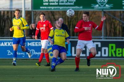 Nunspeet niet bij de les in streekderby  - ©NWVFoto.nl