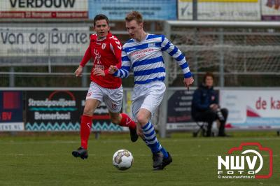 Hulshorst en ESC houden elkaar in evenwicht - ©NWVFoto.nl