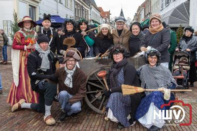 Winter in de vesting een gezellig winter evenement in de tijdgeest van het jaar 1900. - ©NWVFoto.nl