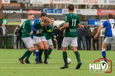 Verdediging 't Harde lek als een vergiet. - ©NWVFoto.nl