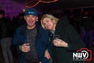 Andere Tijden Marathon kan terug kijken op twee gezellige artiestenavonden in Oosterwolde. - ©NWVFoto.nl