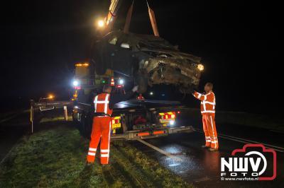 Eenzijdig ongeval Elburgerweg Dronten  - ©NWVFoto.nl