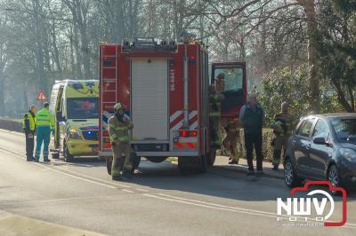 Frontale aanrijding Eperweg Heerde - ©NWVFoto.nl