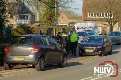 Frontale aanrijding Eperweg Heerde - © NWVFoto.nl