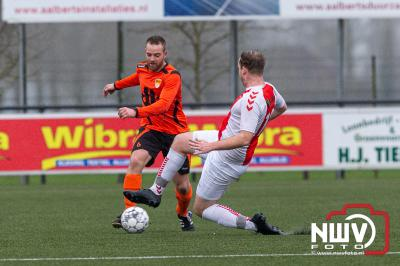 Oene en DSV'61 houden elkaar in evenwicht. - © NWVFoto.nl