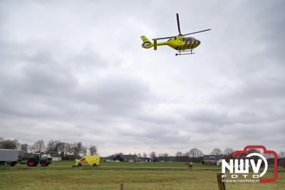 Fietser aangetroffen langs de Huisdijk Hoge Enk - ©NWVFoto.nl