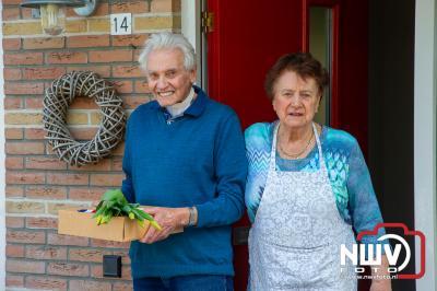 75 jarigen in Oosterwolden krijgen gratis Koningslunch aangeboden. - ©NWVFoto.nl