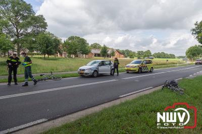 Fietser ernstig gewond Eperweg 't Harde - © NWVFoto.nl