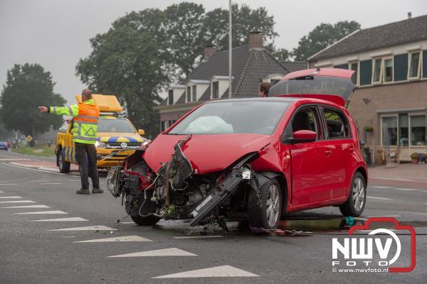 Ongeval Zuiderzeestraatweg West Oude Harderwijkerweg Doornspijk  - © NWVFoto.nl