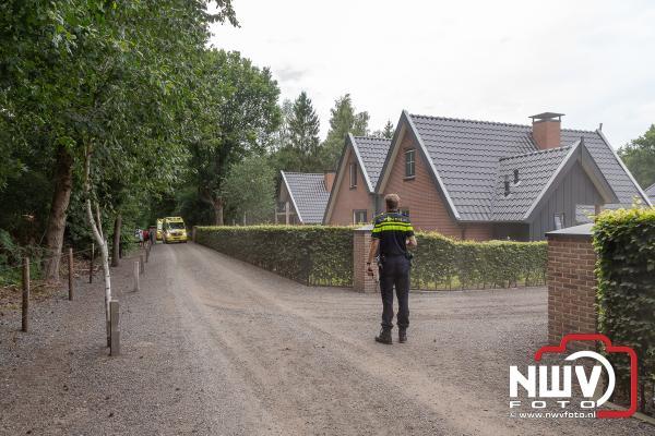 Buurt verontrust door steekincident aan de Berkenweg in Doornspijk. - ©NWVFoto.nl