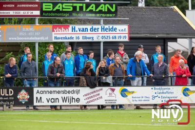 Gelijkspel VSCO'61 dankzij kopbal van invaller Wim de Vries tegen eersteklasser vv Nunspeet. - © NWVFoto.nl