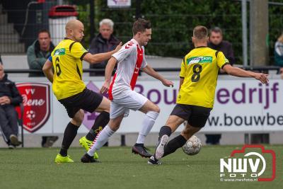Oene bezorgt VIOS tweede nederlaag. - ©NWVFoto.nl
