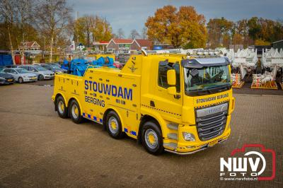 Wagenpark van Stouwdam uitgebreid met een Daf CF 530 8x4 bergingstruck. - © NWVFoto.nl