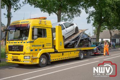 Forse schade bij kop-staart botsing  - © NWVFoto.nl