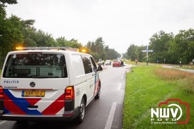 Fietser zwaargewond bij ongeval Epe, traumahelikopter gecanceld - © NWVFoto.nl