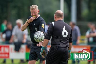 Doornspijk pakt de winst in gemeentelijk KNVB Beker derby tegen 't Harde. - © NWVFoto.nl