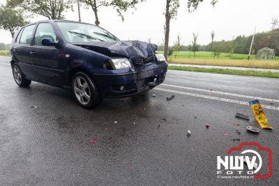 Persoon gewond geraakt bij kleine kettingbotsing Wezep - © NWVFoto.nl