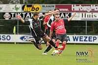 23-08-2014 Beker voetbal WHC - Sparta Enschede 3-0 in Wezep